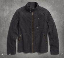 Harley-Davidson Men's Waxed Casual Jacket 97411-17vm SMALL