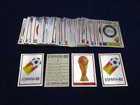 Panini WM WK WC 1982 WorldCup Espana 82, pick 1 badge sticker/1 Wappen auswählen