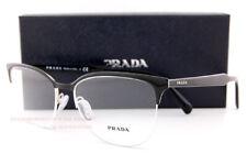 Brand New Prada Eyeglass Frames 53VV 1AB Black Size 55 For Men Women