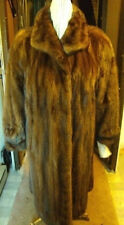 MINT CANADIAN MAHOGANY MINK FUR COAT WOMEN WOMAN SIZE 18-20 XXXL