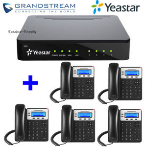 Yeastar YST-S20 S20 Voip PBX Phone System + 5 Grandstream GXP1625 Phone Bundle