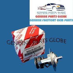 GENUINE TOYOTA CAMRY MATRIX SCION tC xB ENGINE COOLANT THERMOSTAT 90916-03136