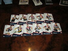 2014 NRL TRADERS SYDNEY ROOSTERS COMMON TEAM SET 11 CARDS MINICHIELLO WILLIAMS