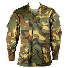 Nuevo Ogier Woodland BDU militar táctico de combate de RAID Camisa Ripstop