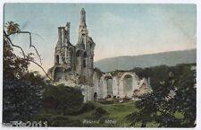Byland Abbey, Yorkshire, England vintage Postcard
