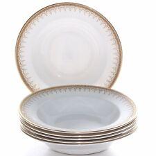 Paragon Athena, 6 X Large Rimmed Bowls, Soup/pasta, 9 Inches