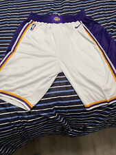Men's Los Angeles Lakers Nike White 2019/20 Association Edition Swingman Shorts