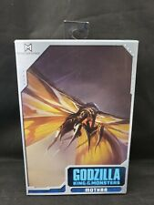 """NECA Godzilla King of the Monsters Mothra 7"""" Action Figure Loose Complete Rare"""