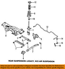 SUBARU OEM 03-07 Forester Stabilizer Sway Bar-Rear 20451SA000