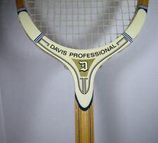 DAVIS TAD PROFESSIONAL Vintage Wood Tennis Racket