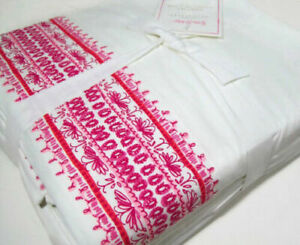 Pottery Barn Lilly Pulitzer, A Shell of a Time Cal- King Sheet Set, NWT 4 Piece