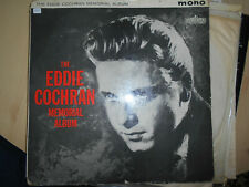 "EDDIE COCHRAN   LP  LIBERTY LBY 1127  ""MEMORIAL ALBUM""  [UK]"
