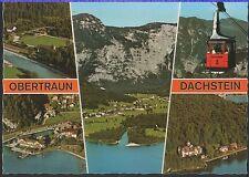 Alte Postkarte - Obertraun Dachstein
