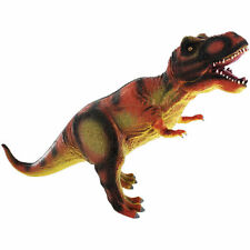 GIANT 36cm SOFT RUBBER TYRANNOSAURUS REX DINOSAUR ACTION FIGURE TOY WITH SOUND