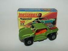 Matchbox Superfast No 13 Baja Buggy 2 Seater variation Excellent - Very Rare