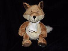 HARRODS HEDGEROW FOX SOFT TOY BROWN COMFORTER DOUDOU