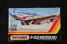 YN077 MATCHBOX 1/72 maquette avion PK-13 P-51D Mustang