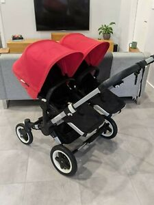 Bugaboo Donkey 3 Pram with 2 Seats & Bassinet (Daddy's spare, as new)