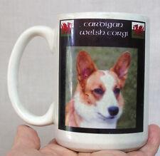 Vintage Coffee Mug Picturing A Cardigan Welsh Corgi Dog on Sides