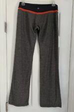 Lululemon wide leg pants gray SIZE 6 fitness exercise yoga pants GUC Soft!