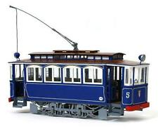 "Elegant, finely detailed model tram kit by OcCre: the ""Tibidabo Tram"""