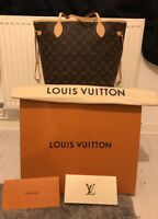 AUTHENTIC LOUIS VUITTON MONOGRAM NEVERFULL MM TOTE BAG. (Never Used)