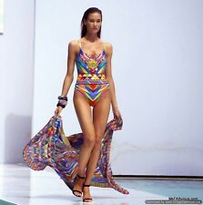 BNWT Gottex Serengetti Gold Label Swimwear Costume Multi-Coloured UK 10 RRP £175