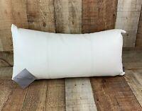 Howard Elliott Avanti White Kidney Pillow 4-190 New