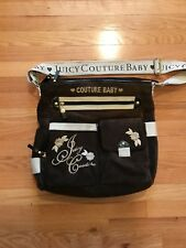 JUICY COUTURE BAG BABY DIAPER BAG OR PURSE COMES WITH COUTURE PAD