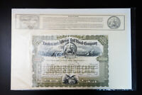 Collection of 16 Engraved Stock & Bond Certificates of Early Railroad Companies