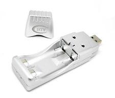 Powerline 2 Schnelladegerät Akkuladegerät ,USB Ladegerät Für NiMh AA / AAA