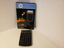 Hewlett Packard HP 10BII+ Plus Financial Calculator Business  Works Great