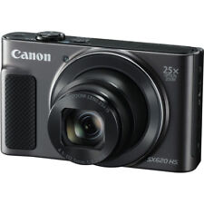 Canon PowerShot SX620 HS 20.2MP Digital Camera W/ 25X Optical Zoom - Black - New
