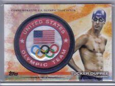 Tucker Dupree 2012 Topps U.S. Olympic Team & Hopefuls Team Patch #ULP-TDU