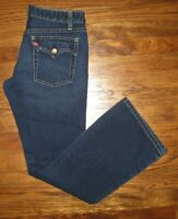 Women's size 9 JR M SUPERLOW Bootcut Levi's Red Tab Dark Denim Jeans *NWOT*