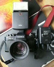 Yashica FX - 1, lens ml 50mm 1:1 .7, con correas, rayo & cargador, Analog