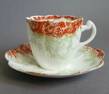 Antique Wileman pre Shelley Foley China Tea Cup & Saucer c1890-1900 :A3