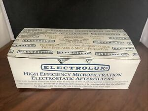 Vintage 6 Genuine Electrolux Microfiltration Electrostatic AfterFilters NIB G31