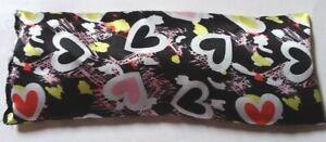 Hearts Morning Sickness/Sleep/Migraine Satin Eye Pillow Lavender Linseed