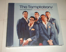 SEALED The Temptations 50th Anniversary The Singles 1961-1971 3 x CDs MOTOWN