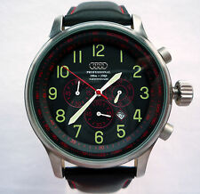 Audi Quattro RS S Line WRC DTM Motorsport Racing Sport Design Chronograph Watch