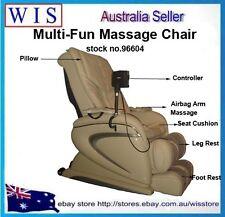 Electric Multi-fun Massage Chair Gravity Zero Recliner Foot Massager Full Body