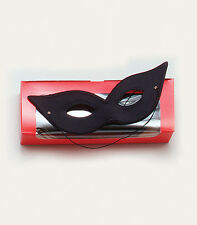 Laser Eye Mask Masquerade Venetian Cat Woman EyeMask Fancy Dress Accessory BLACK