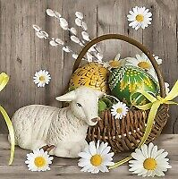 Easter 4pcs Exclusive Paper Event Lunch Napkins for Decoupage SLWL 008601