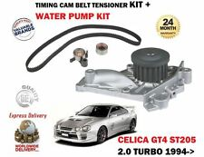 FOR TOYOTA CELICA GT4 2.0 TURBO 1994-1999 WATER PUMP + TIMING BELT TENSIONER KIT