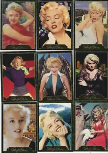 MARILYN MONROE SERIES 2 (SportsTime 1995) Complete Card Set (101-200) + CHROME