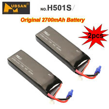 2xHubsanH501S Drone Original Replacement 2700mAh 10CLipo Batteries Fr Helicopter