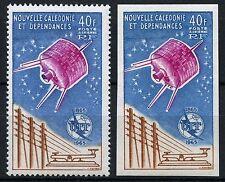 Raumfahrt Space 1965 Neukaledonien ITU UIT 412 A + U Imperf MNH/880