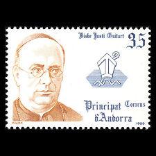 Andorra 1986 - Spanish Bishop Justi Guicart Religion - Sc 175 MNH
