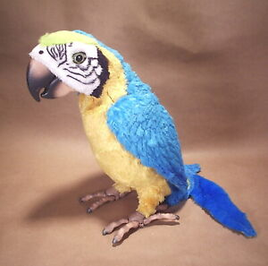 Fur Real Talking Parrot Hasbro 2007 Squawkers Macaw WORKS